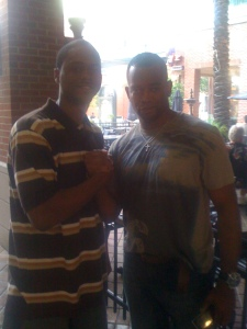 Me and Stuart Scott (ESPN)